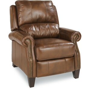 Tarleton Leather Manual Recliner by La-Z-Boy