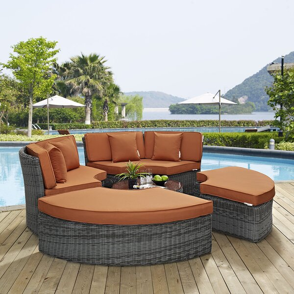 Keiran Daybed with Cushions by Brayden Studio