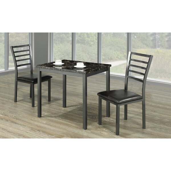 Lyanna 3 Piece Dining Set By Winston Porter