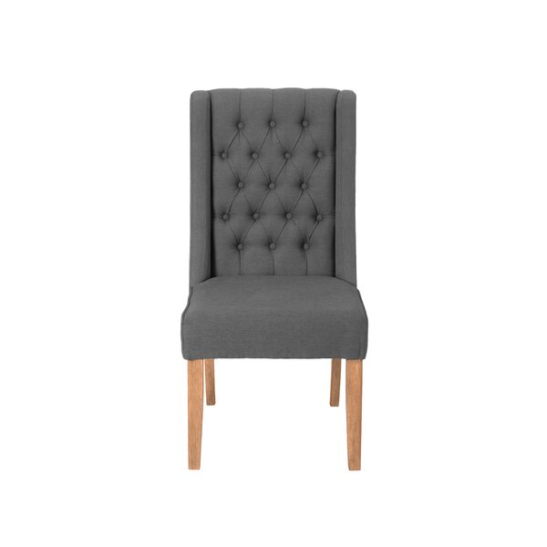 Seyler Upholstered Dining Chair by Gracie Oaks Gracie Oaks