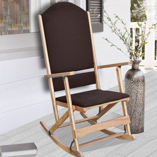 Cedar Creek Solid Wood Folding Rocking Chairs (Set of 2) by Wildon Home ®