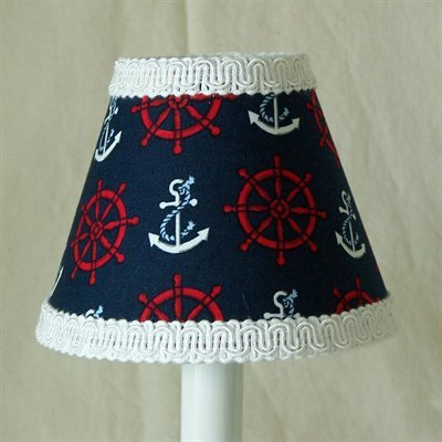 Anchor And Helm Night Light by Silly Bear Lighting