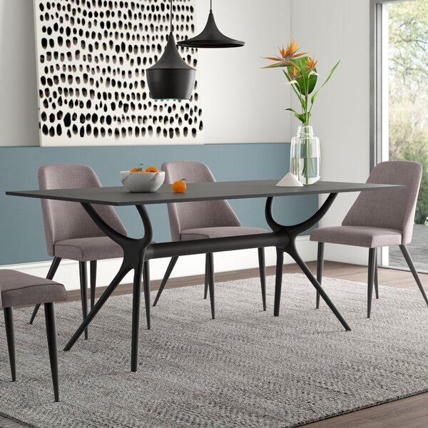 Curnutt Plastic Dining Table By Mercury Row