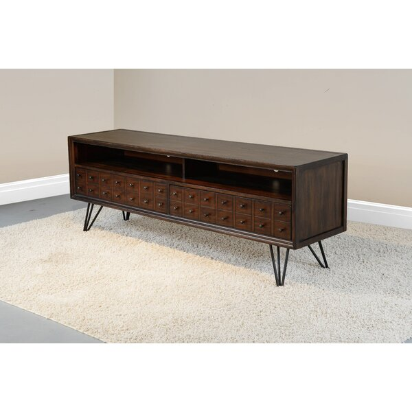 Terhune Solid Wood TV Stand For TVs Up To 85