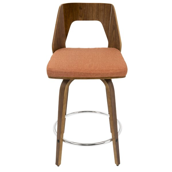 Emory 24 Swivel Counter Stool by Langley Street