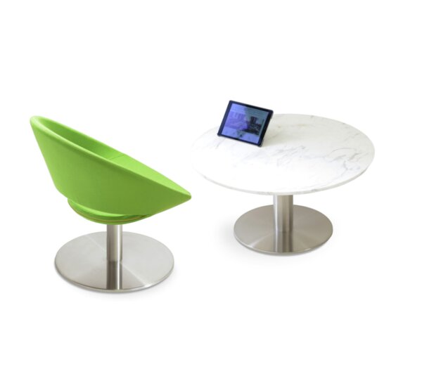 Tango Pedestal Coffee Table By SohoConcept