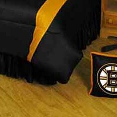 NHL Bed Skirt by Sports Coverage Inc.
