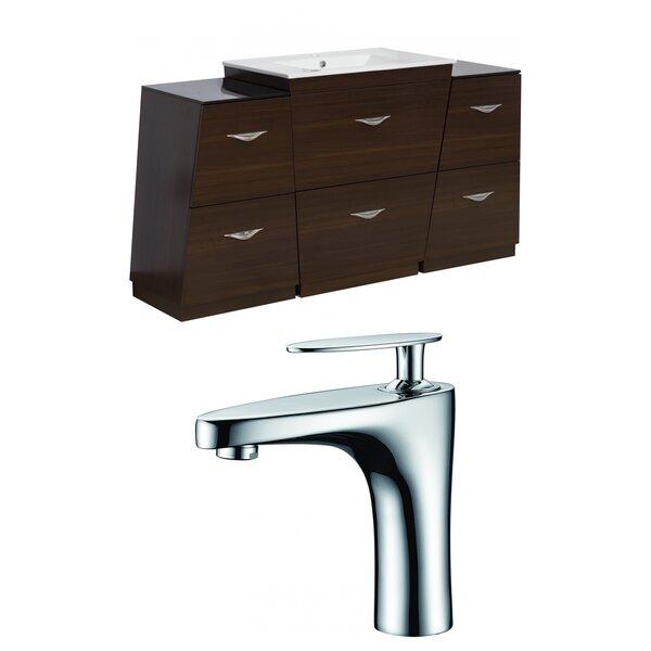 Vee 56 Single Bathroom Vanity Set by American Imaginations