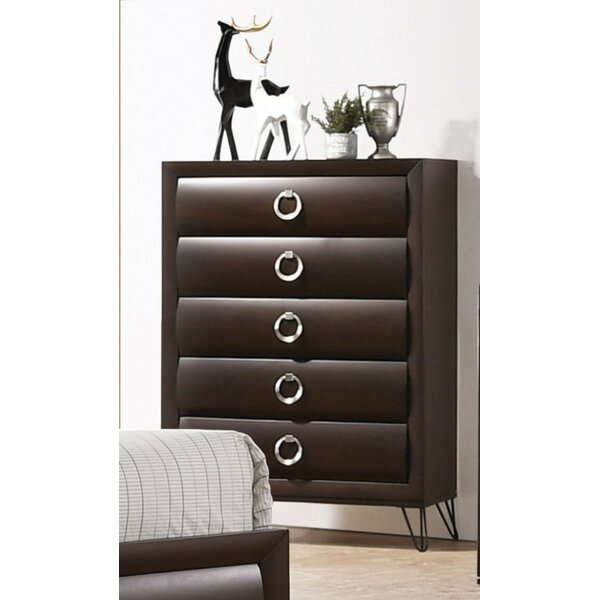 Garrard 5 Drawer Chest by Everly Quinn