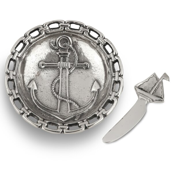 Dip Dish Anchor Condiment Server By Star Home.