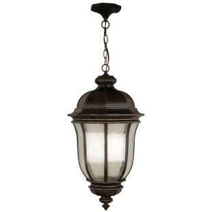 Online Reviews Oakhill Peruvian Bronze 3-Light Outdoor Hanging Lantern By Charlton Home