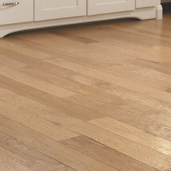 3-1/4 Engineered Hickory Hardwood Flooring in Golden Wheat by Welles Hardwood
