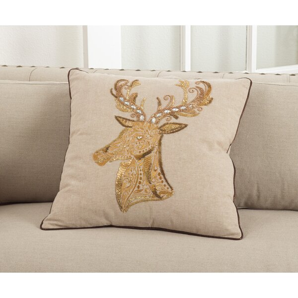 Cotton Throw Pillow by The Holiday Aisle