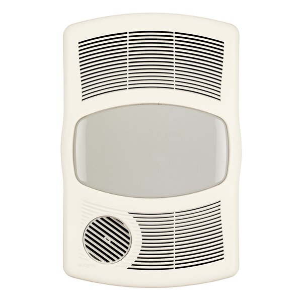 100 CFM Exhaust Bathroom Fan with Heater by Broan