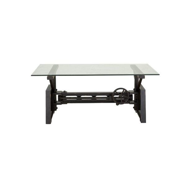 Kushner Industrial Rectangular Mechanical Coffee Table
