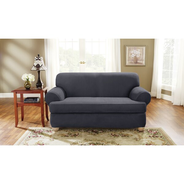 T-Cushion Loveseat Slipcover by Sure Fit
