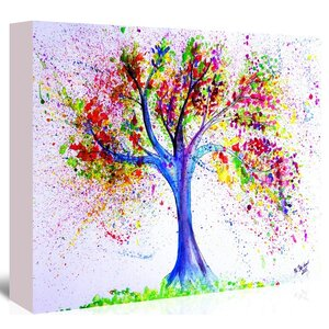 Tree of Life Painting on Wrapped Canvas by East Urban Home