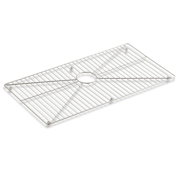 Vault /Strive Stainless Steel Sink Rack, 32 x 16-11/16 for 36 Single-Bowl Apron-Front Sink by Kohler