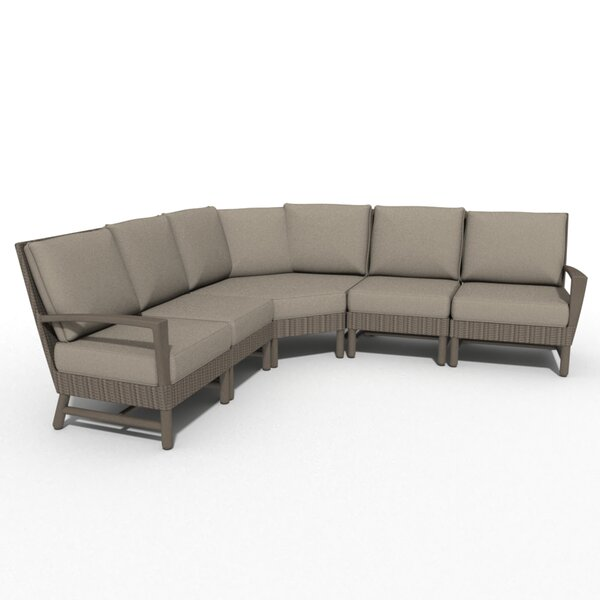 Hampton 5 Piece Symmetrical Sectional By Winston