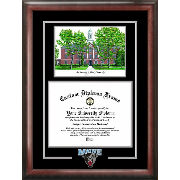 Spirit Graduate with Campus Image Picture Frame by Campus Images