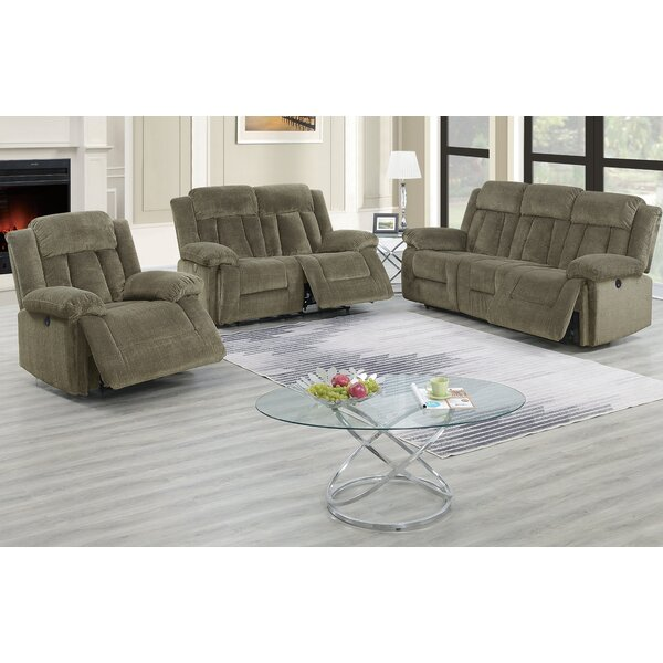 Lomba Reclining Configurable Living Room Set by Red Barrel Studio Red Barrel Studio