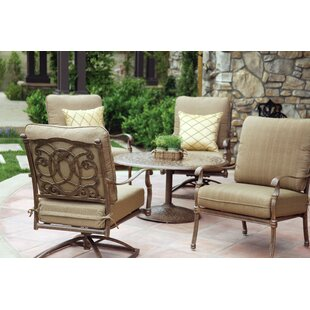 Dolby 5 Piece Conversation Set with Cushions ByAstoria Grand