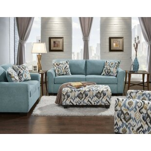 Polyester/Polyester Blend Living Room Sets | Joss & Main