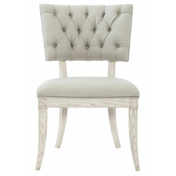 Domaine Blanc Upholstered Dining Chair (Set of 2) by Bernhardt