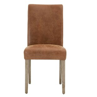 Aryan Wooden Upholstered Dining Chair Set of 2