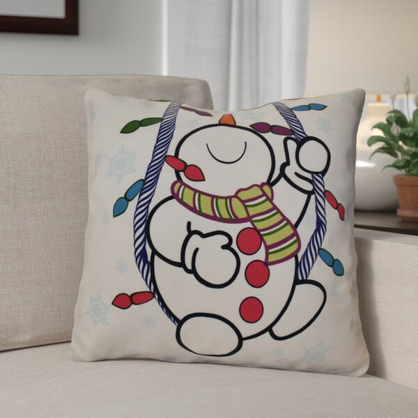 Winter Whimsy Outdoor Throw Pillow by The Holiday Aisle