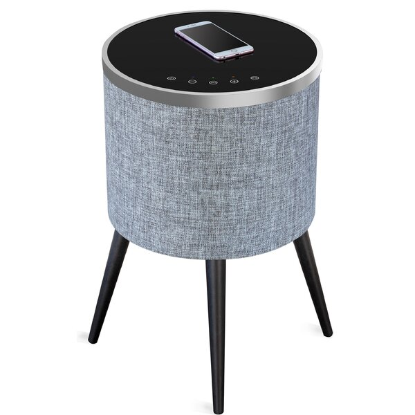 Sound Home Audio Speaker End Table With Fixed Top By Soundstream