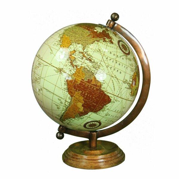Rustically Charmed Globe by Winston Porter