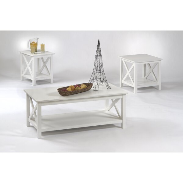 Ruthwynn 3 Piece Coffee Table Set by Beachcrest Ho