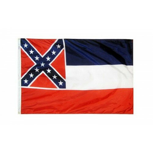 Mississippi Glo Traditional Flag by NeoPlex