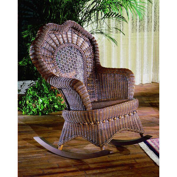 Serpentine Rocking Chair by Yesteryear Wicker