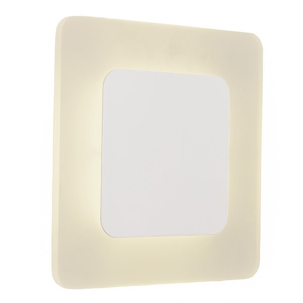 Cristian Frame Box 1-Light LED Flush Mount by Corrigan Studio