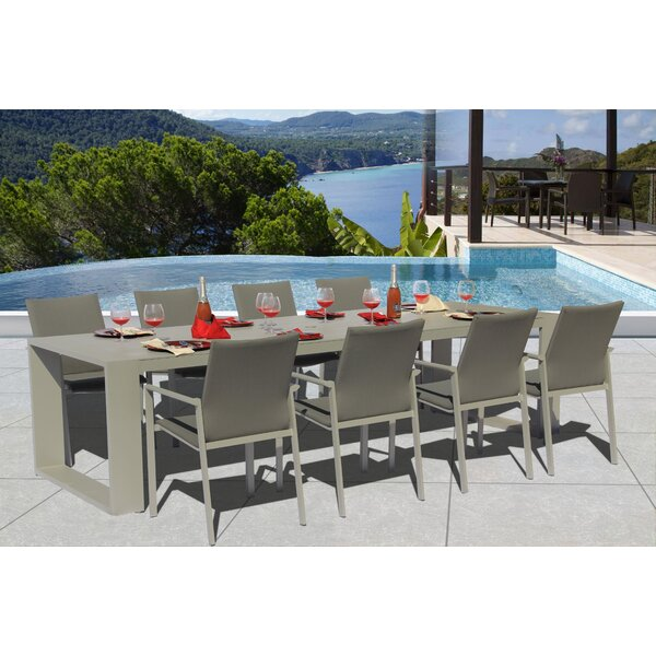 Montalto 9 Piece Dining Set by Latitude Run Latitude Run