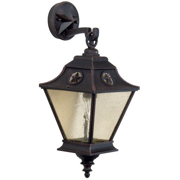 Osmond 1-Light Outdoor Wall Lantern by Charlton Home