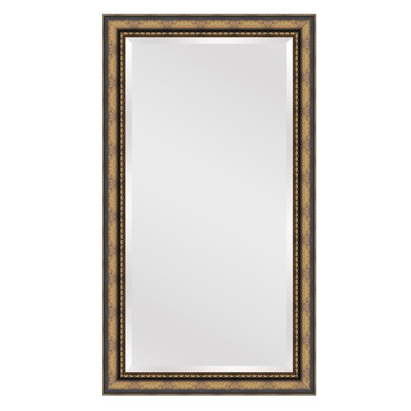 Rectangle Gold Brown Wall Mirror by Darby Home Co