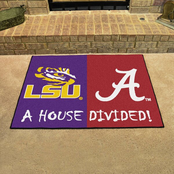 House Divided - LSU / Alabama Doormat by FANMATS