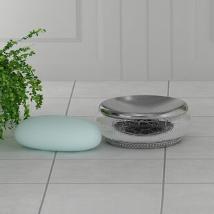 Shop for Larocque Glass/Metal Soap Dish ByLark Manor