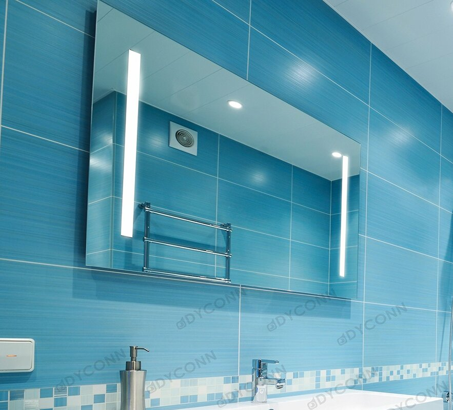 Edison Bathroom Wall Mounted Mirror