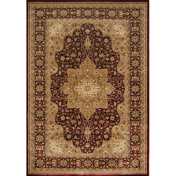 Triumph Red Area Rug by Home Dynamix