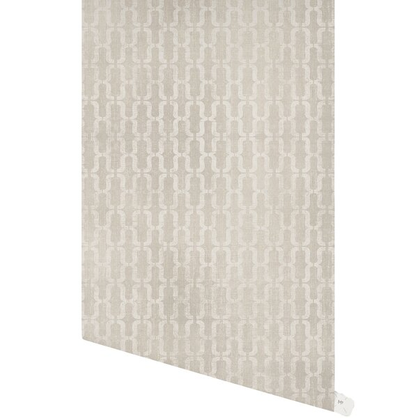 Doraville 48 L x 24 W Paintable Peel and Stick Wallpaper Panel by Bungalow Rose