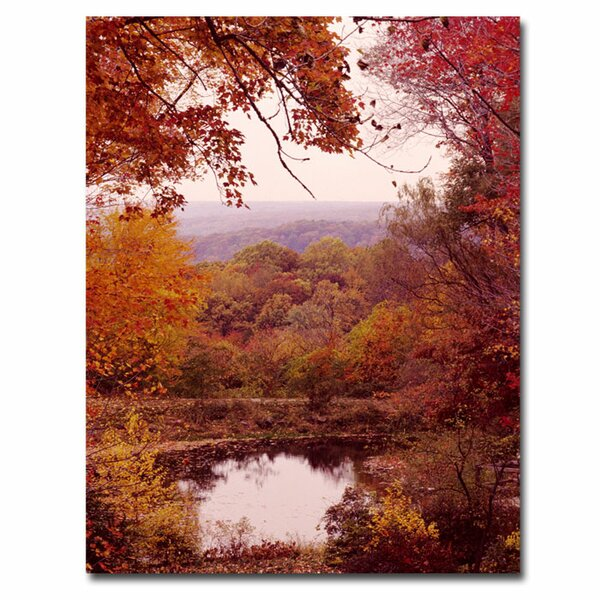 The Cuyahoga Valley by Kurt Shaffer Framed Photographic Print on Wrapped Canvas by Trademark Fine Art
