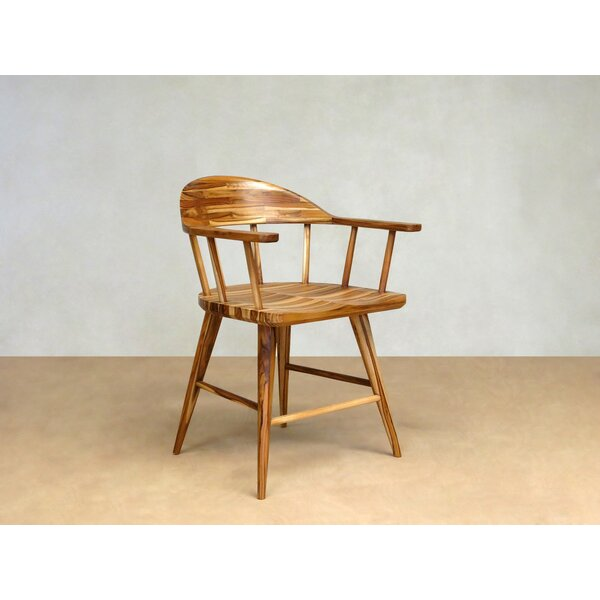 Captain Solid Wood Dining Chair by Masaya & Co