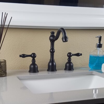 Victorian Widespread Bathroom Faucet S-Series Finish: Oil Rubbed Bronze
