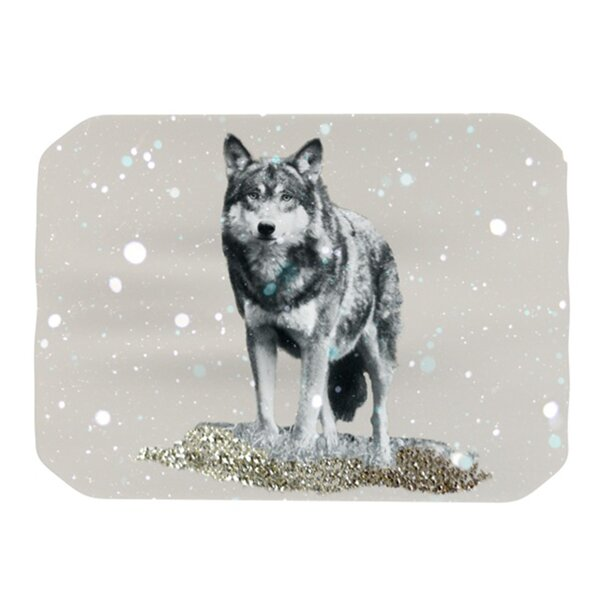 Wolf Placemat by KESS InHouse
