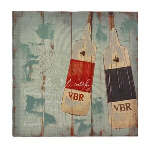 Seaworthy Oars Graphic Art on Canvas by Zingz & Thingz