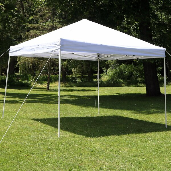 Midland 10 Ft. W x 10 Ft. D Steel Pop-Up Canopy by Freeport Park